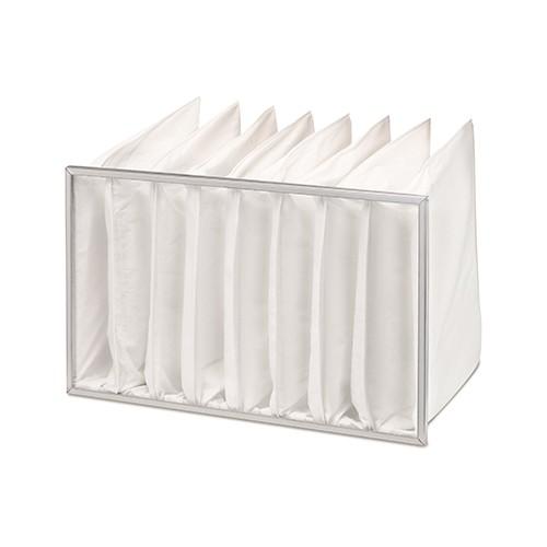 HELIOS-Ersatz-Taschenluftfilter EKLF 80/50 F7, für KLF, Pack 2 Stück