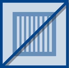 KAMPMANN Ersatzfiltermatte ohne Rahmen 1 Satz = 5 Stück, für Typ 108
